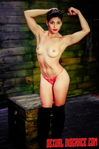 SexualDisgrace.com - Valentina - More Sex Slave Training for Valentina with Rope Bondage & Deep Penetration