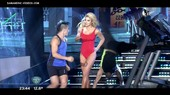 Ailen Bechara hot legs blone